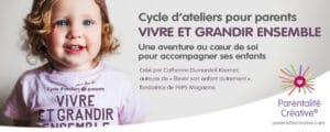 """Cycle """"Vivre et grandir ensemble®"""" – les lundis après-midi – de février à mai 2020"""