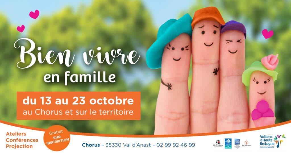 """Projet """"Bien Vivre en Famille"""", des conférences en octobre"""